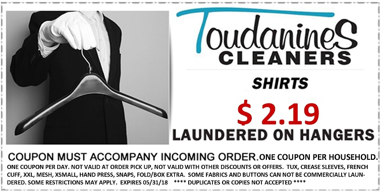 Toudanines Website Shirt Coupon NO DC May 2018
