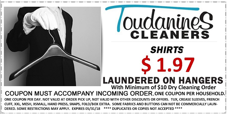 Toudanines Website Shirt Coupon. w DC May 2018